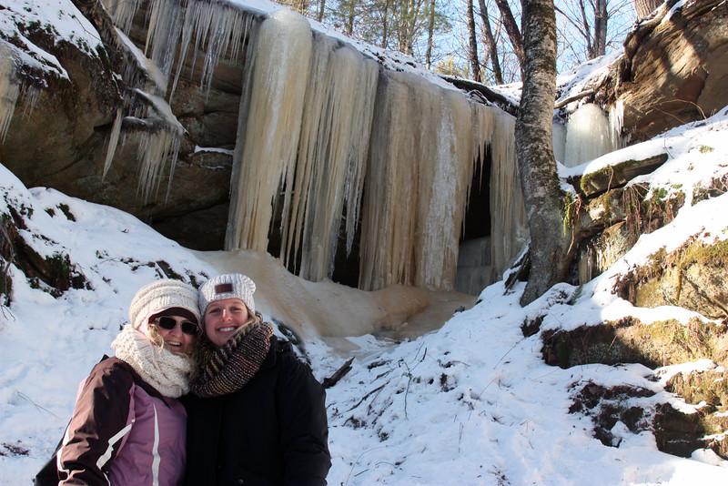 Old Faithful Ice Falls
