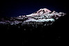 Moonlight on Mount Rainier, Washington