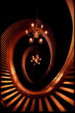 Spiral Staircase, Capital Hill, Seattle, Washington