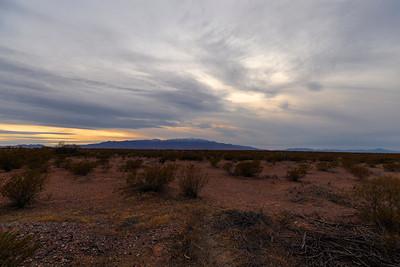Mt. Graham dusk