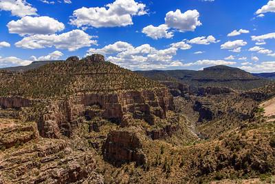 The Salt River Canyon