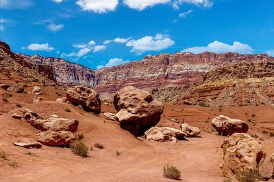 Vermillion Cliffs & Boulders
