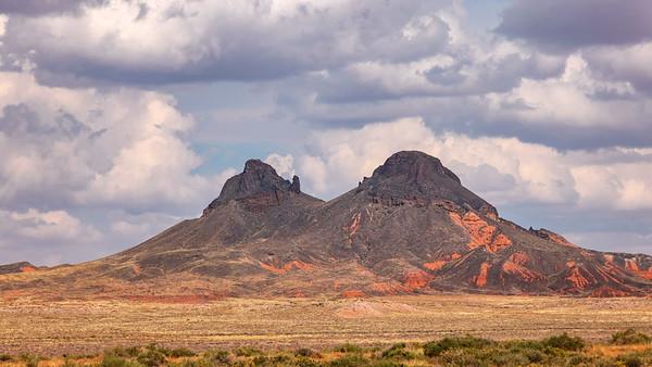 Twin Molten Peaks