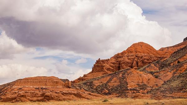 High Desert Hill Formations
