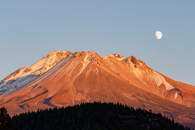 Moon Over Shasta