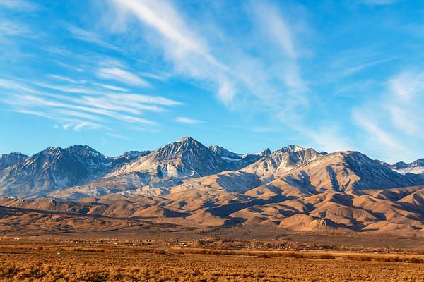 Sierra Nevada Mountains / Owens Valley