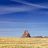 Shiprock and Its Desert Fin
