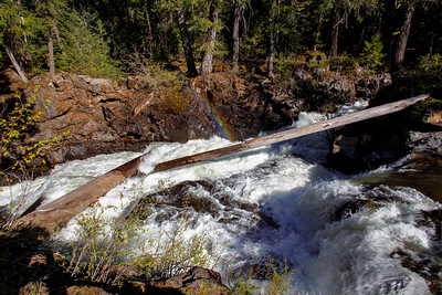 Logs Give Way to Rogue River Gorge Falls