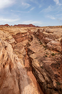 General Overview of a Slot Canyon