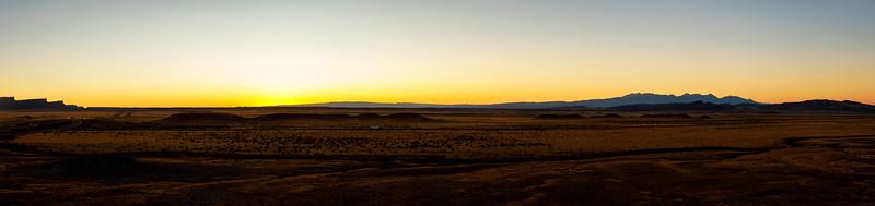 Orange Desert Glow