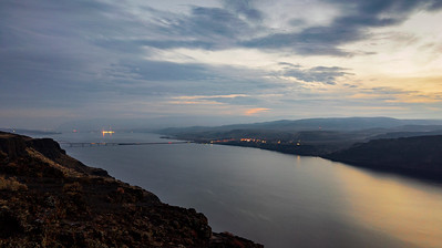 Dusk Over the Columbia River