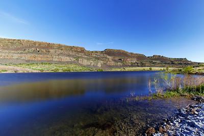 Glossed Over Alkali Lake