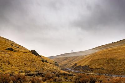 Valley Of Slight Fog