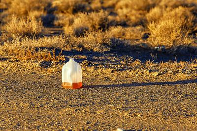 Sunset Repose of the Unidentified Liquid