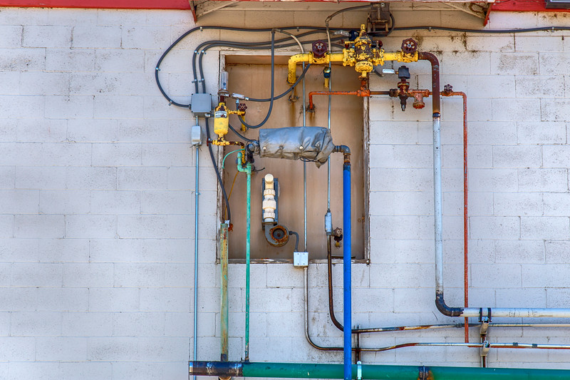 Color Coded Plumbing