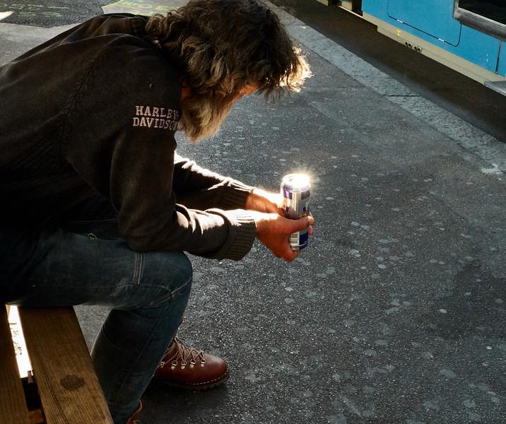 Biker's Magic Lamp