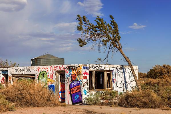Lean Into The Graffiti Art