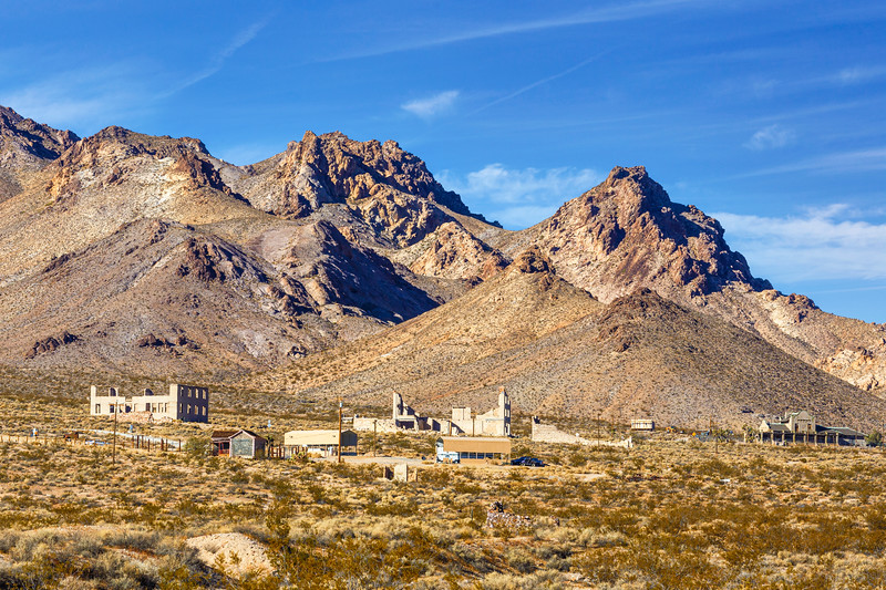 Rhyolite, Nevada - post prosperity