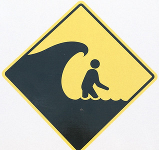 Watch Out For Tsunamis Tapping You On The Shoulder