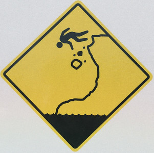 Don't Chase Rolling Stones Over the Cliff
