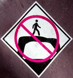 Don't Walk On Luggage Handles