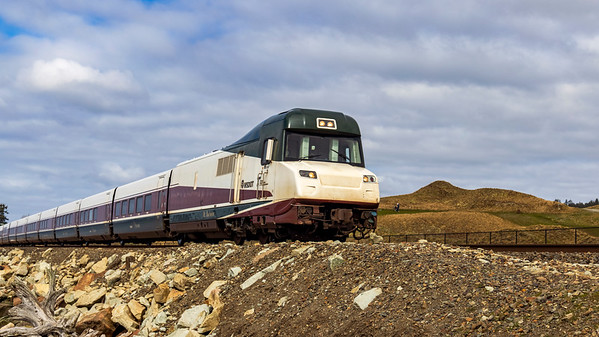 Amtrak By Chambers Bay