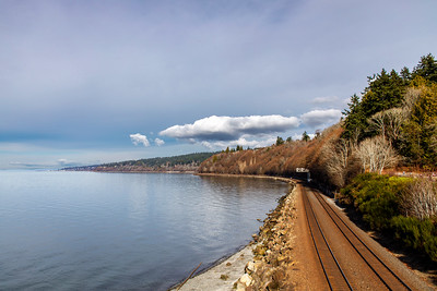 Rails by Carkeek Park, Seattle
