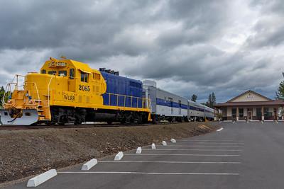 Elgin Train Station