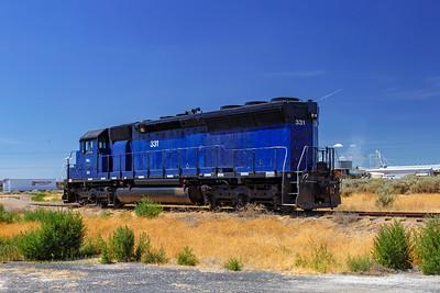 The Bluest Locomotive