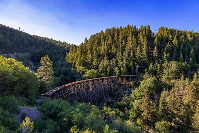 Mexican Canyon Railroad Trestle