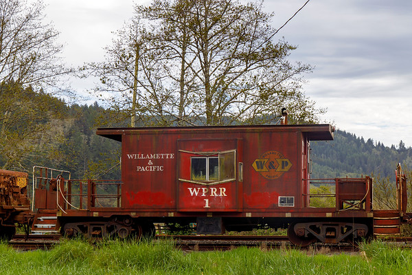 A Little Red Caboose