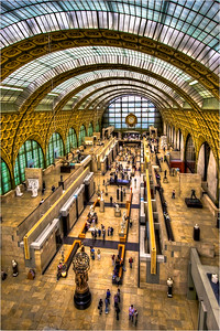 Musee d' Orsay HDR