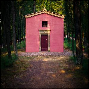 Chaple in the Woods, Maggiore, Italy