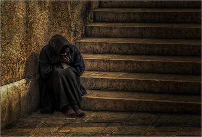 Beggar Woman, Venice (1)