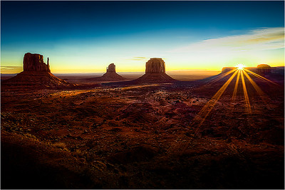 Monument Valley Sunrise A