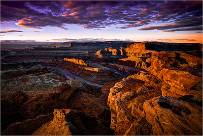 Sunrise at Dead Horse Point