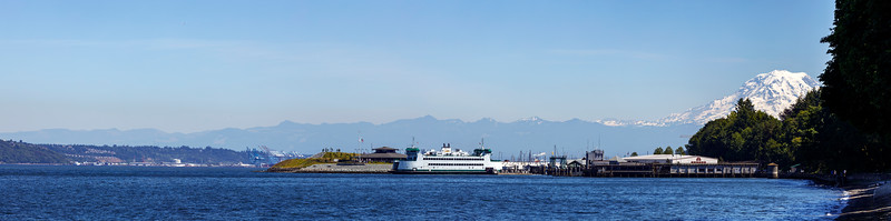 Point Defiance and Mt. Rainier