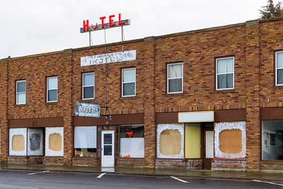 Thompson Hotel Awaits Better Times