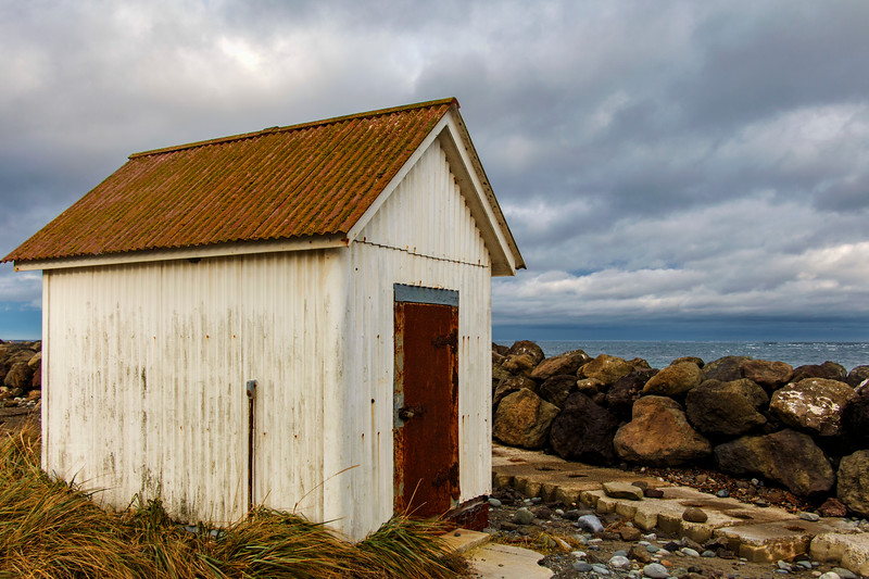 That Shed That Gazed Upon The Sea