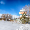 Big Pillow Motel in Winter