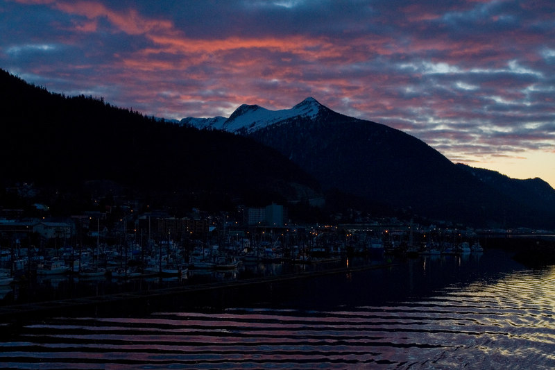 Ketchikan sunrise