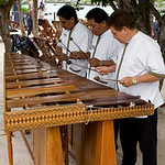 musicians at Xel-Ha