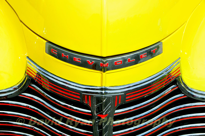 1941 Chevrolet Master Deluxe, Hood and Grill
