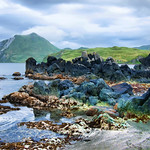 Volcanic rock formation, Summer Bay, Unalaska