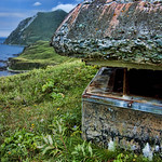 WWII bunker overlooking Summer Bay, Unalaska