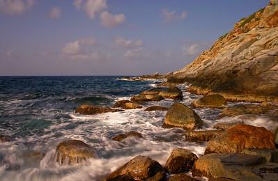 beach outside Virgin Gorda mine 2