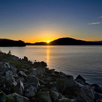 Douglas Island sunset