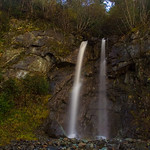 Douglas Island waterfall