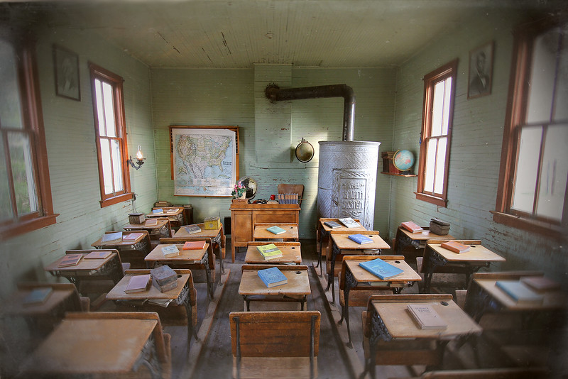 Schoolhouse, Black Hills Ghost Town