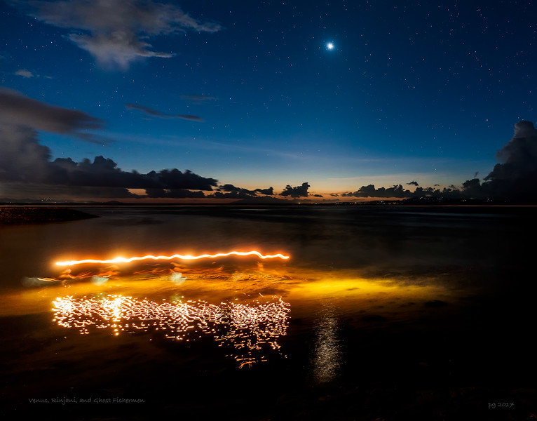 Venus, Rinjani, and Ghost Fishermen